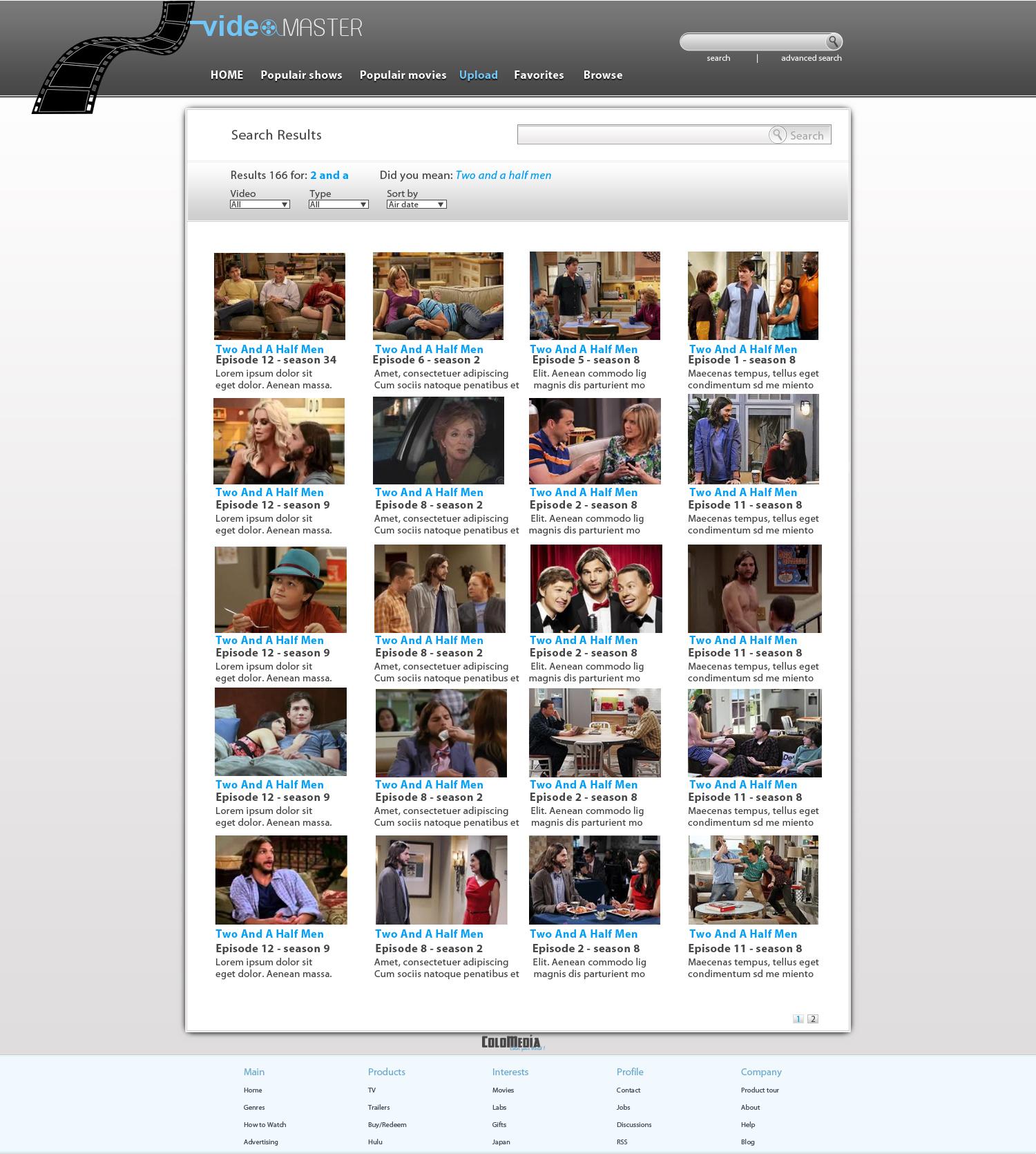 VideoMaster-SearchResult